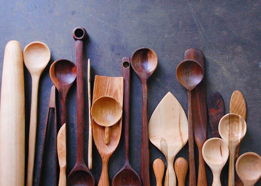 Incroyable Aron Fischer Whittles Handmade Kitchen Utensils In Boonville