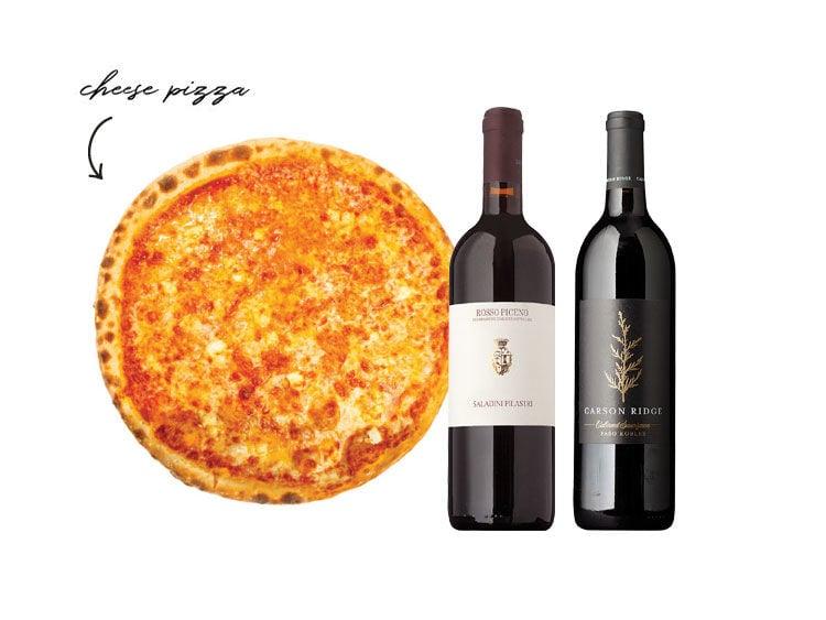 Cheese Pizza Pairings