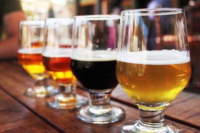 Weekend events beer flights