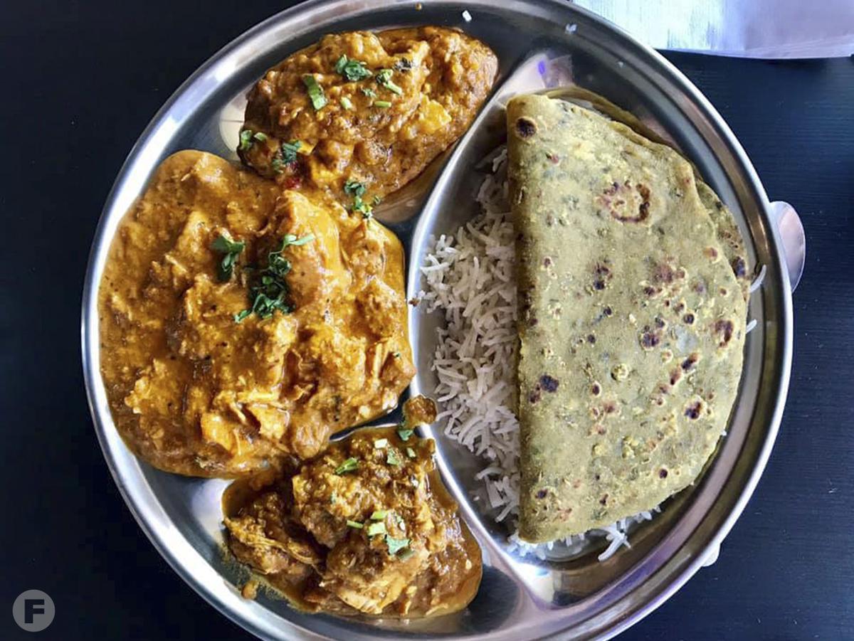 Shagan's Chicken & Parathas Chicken Curry