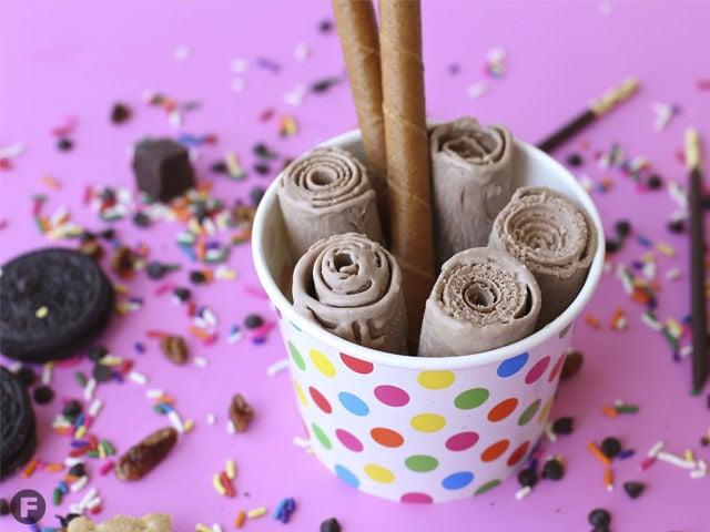 On Trend Rolled Ice Cream