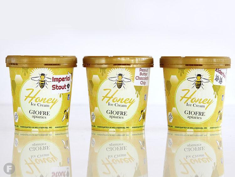 Giofre Apiaries Ice Cream