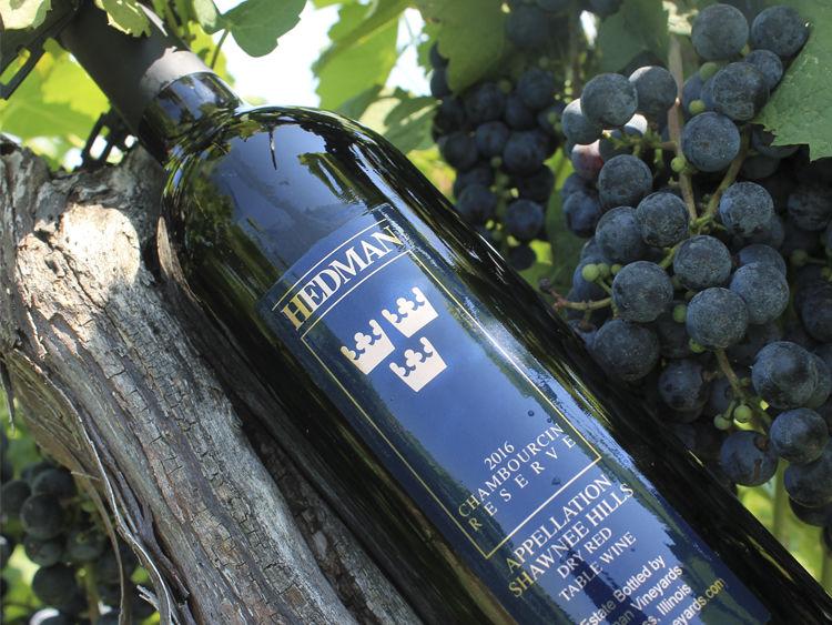 Hedman Vineyards Bottle