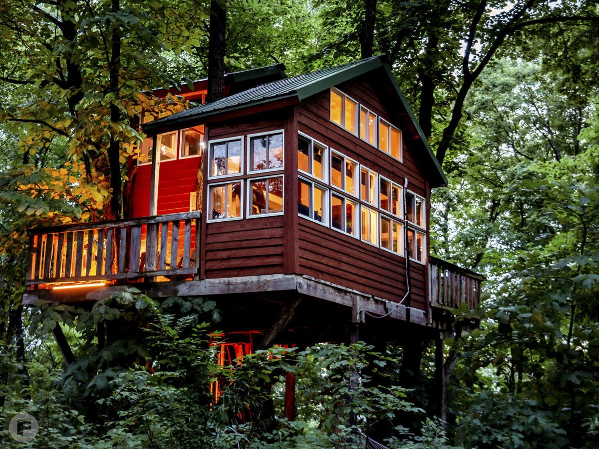 Treehouses at Herman exterior