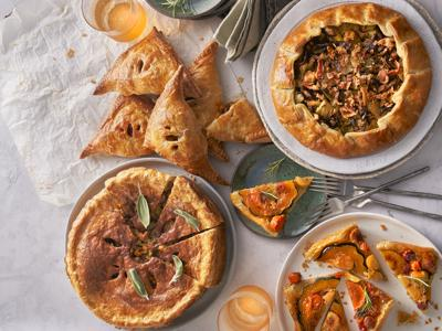 This Thanksgiving, pie isn't just for dessert. Rethink your holiday feast with these four savory recipes