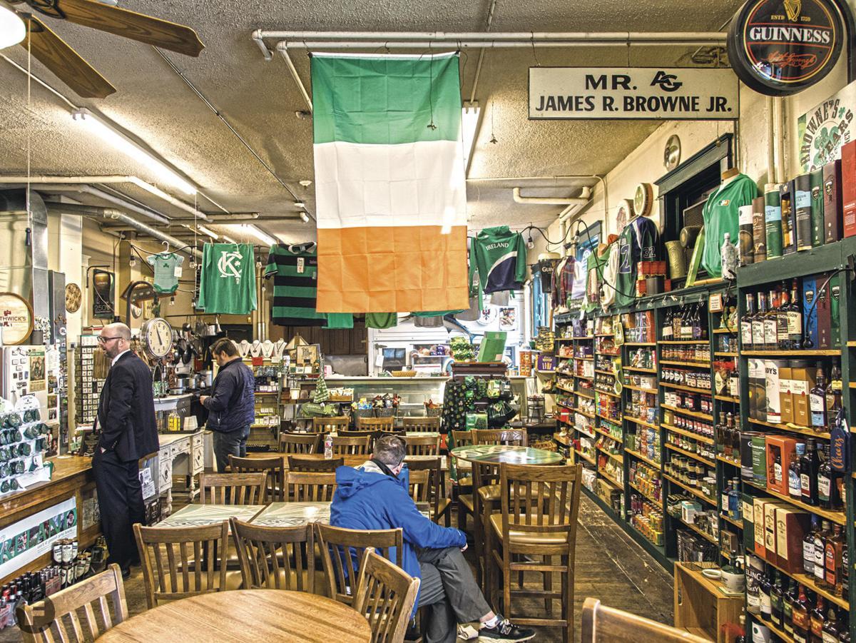 Browne's Irish Marketplace Interior