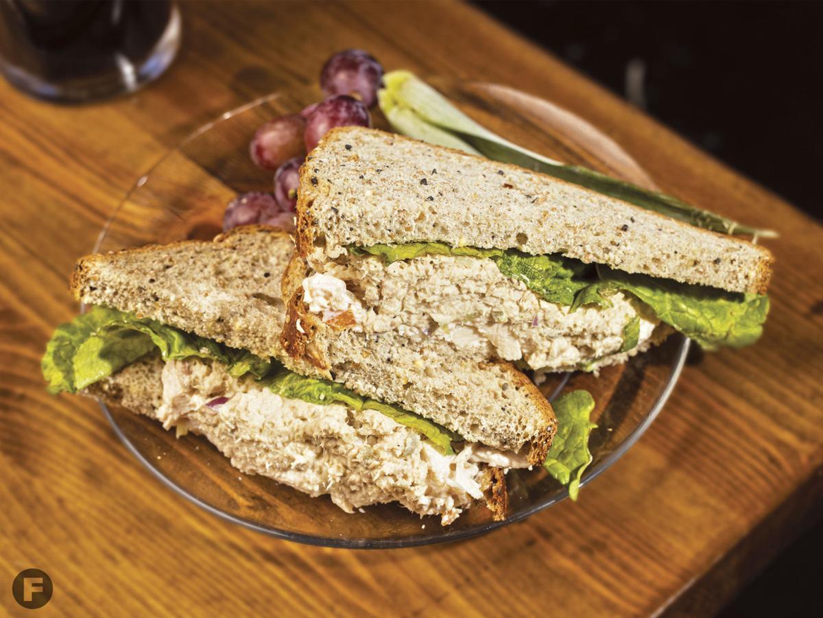 Browne's Irish Marketplace sandwich