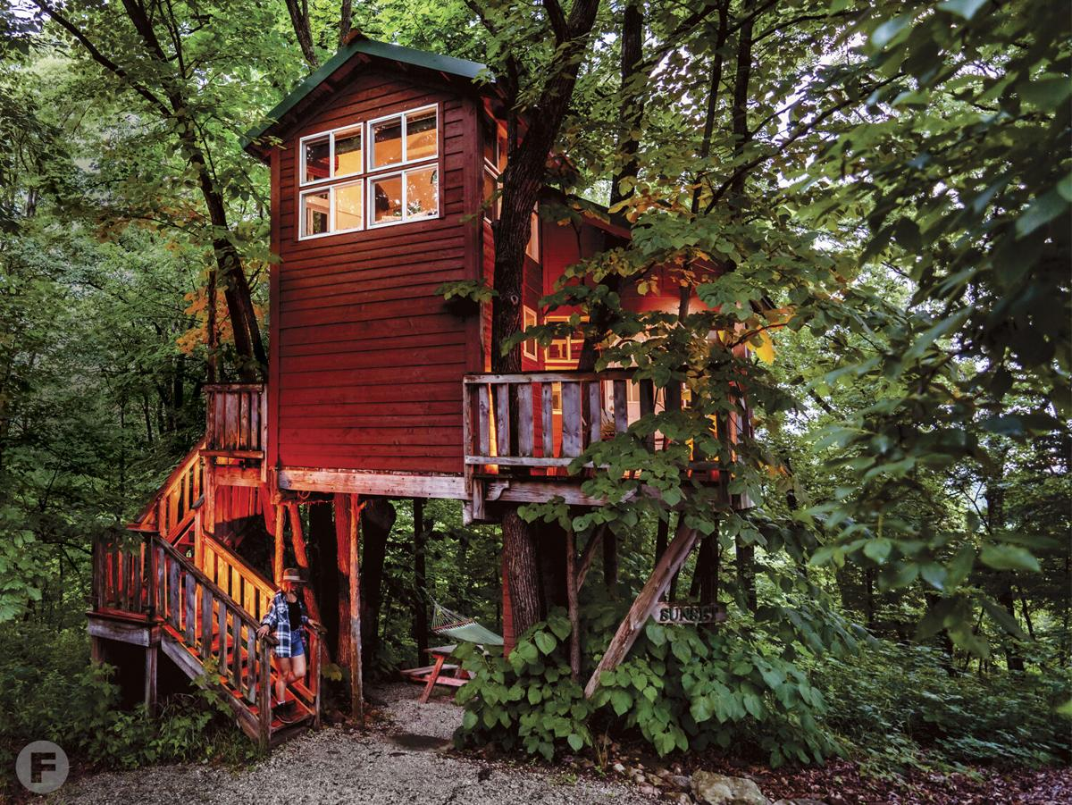 Treehouses at Herman exterior 2