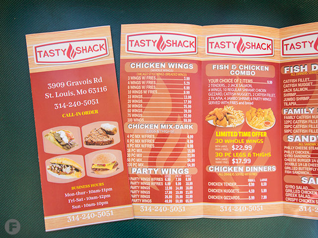 Tasty Shack Now Open In South City Serving Fried Fish Chicken And