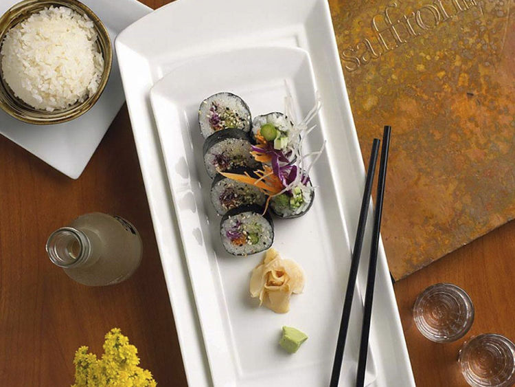 Saffron Bistro Mixed Vegetable Makimono Roll