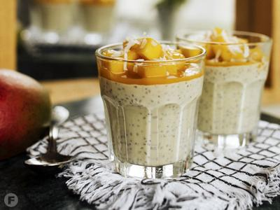 Mango-Coconut Chia Pudding