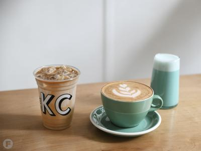Made in KC Cafe oat milk drinks