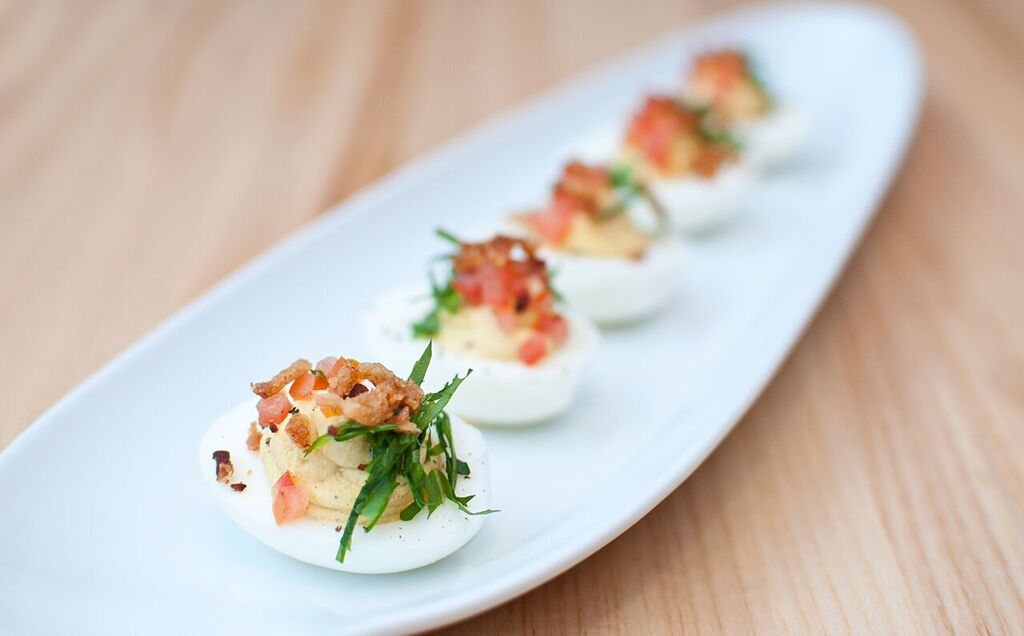 Louie's Wine Dive deviled eggs
