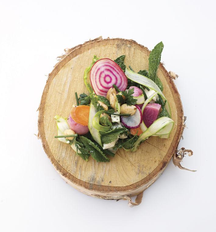Shaved Spring Vegetable Salad