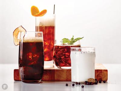 Cocktail-Inspired Coffee Drinks