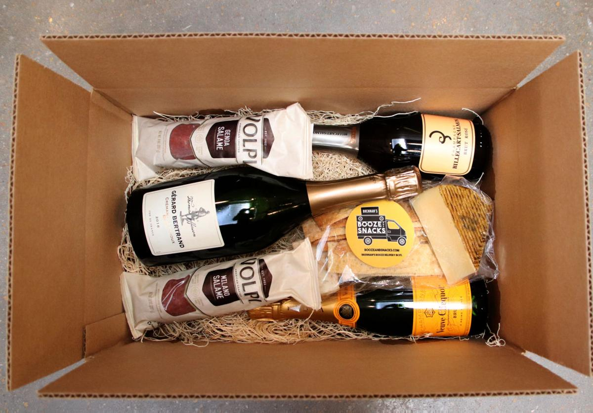 Champagne and Snacks Box