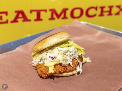 MOchicken Buffalo Springfield Sandwich