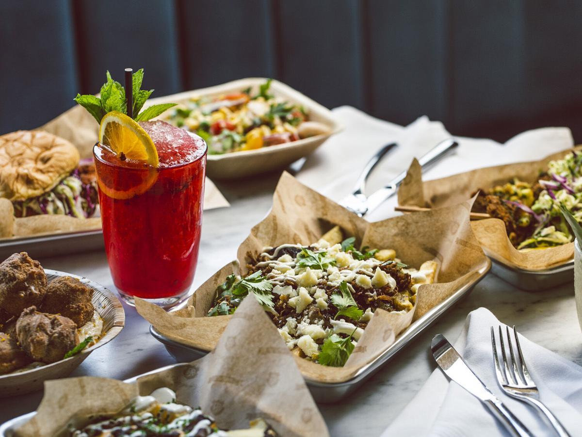 Electric Park Garden Bar dishes