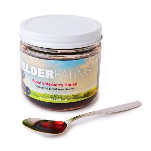 Royal Elderberry Honey
