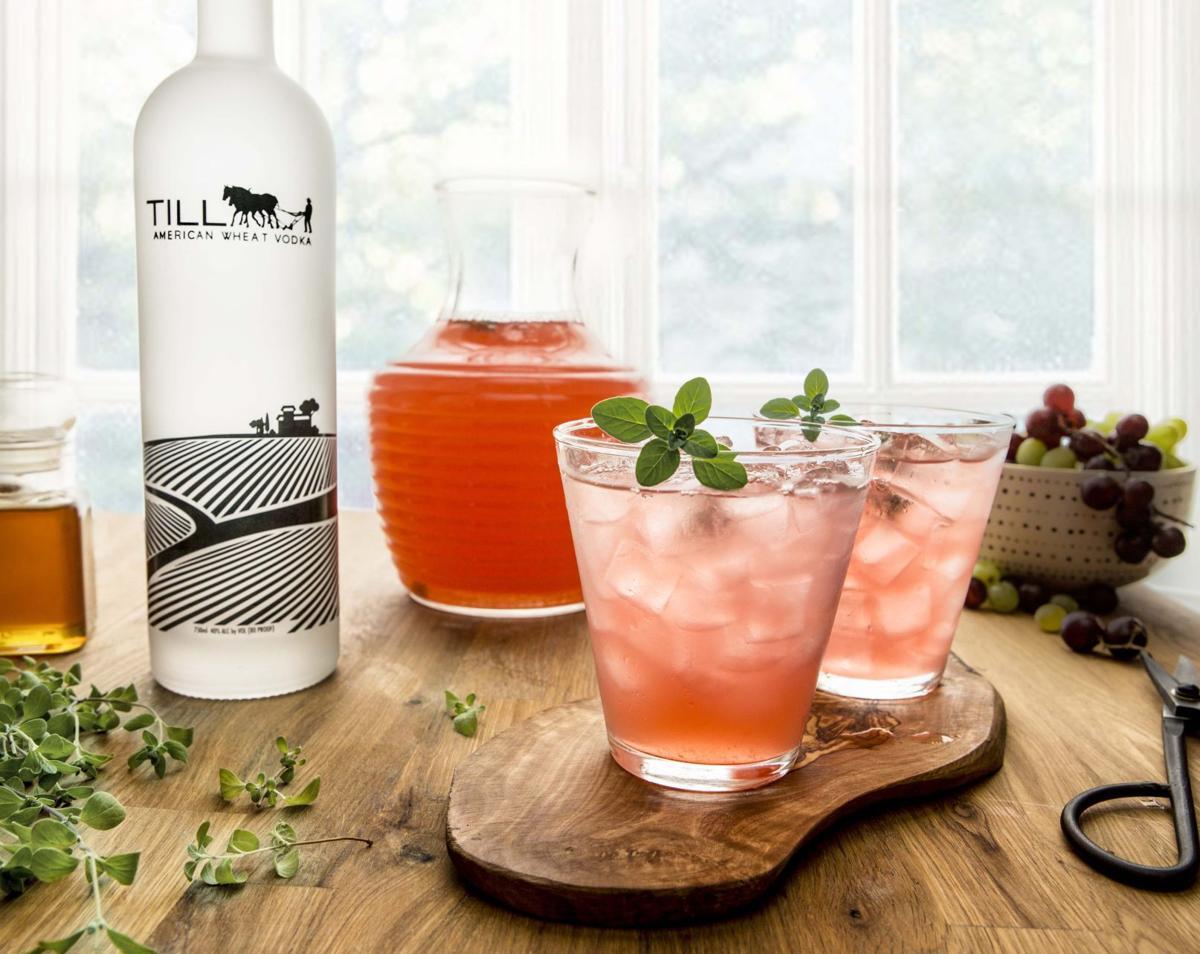 Till Vodka Thyme Cobbler