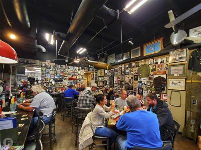 Cafe B-29 Interior
