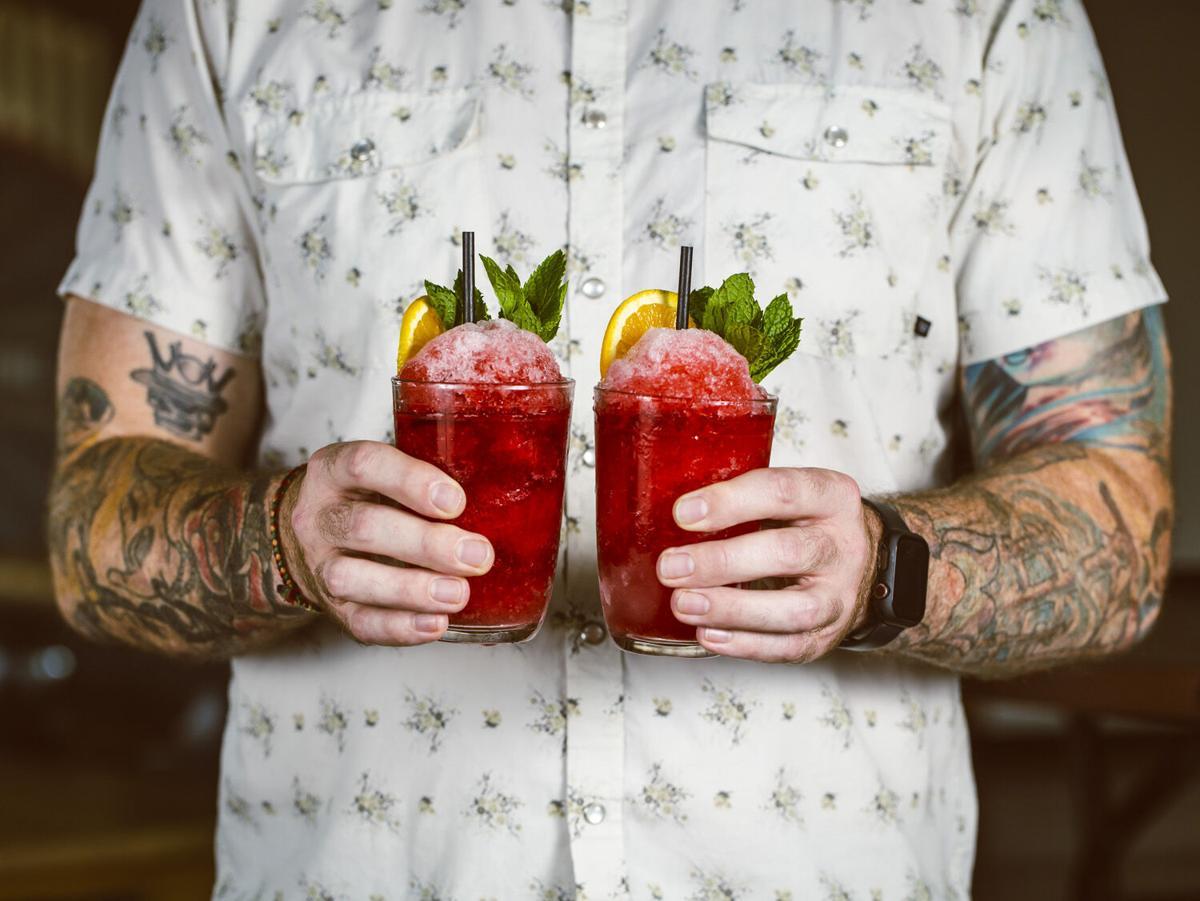 Electric Park Garden Bar drinks