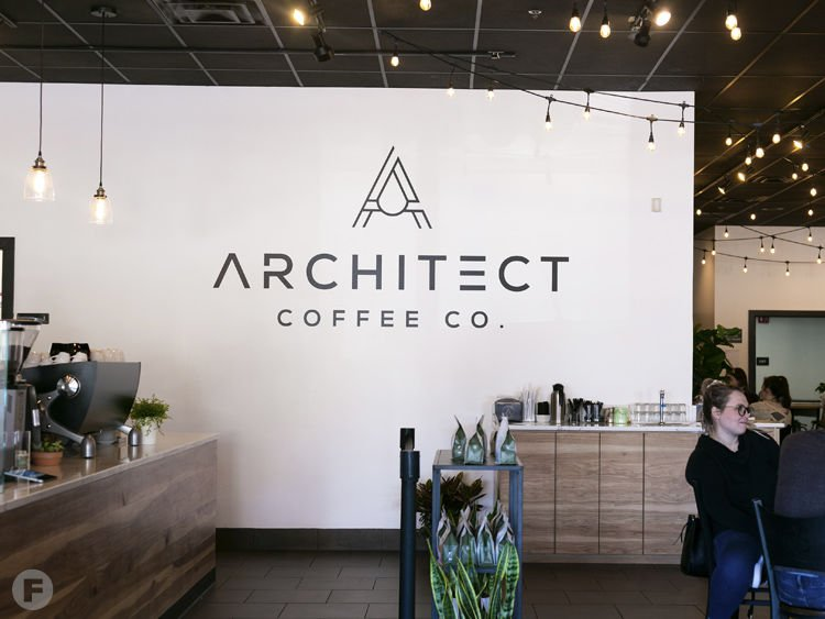 Architect Coffee Co. Interior