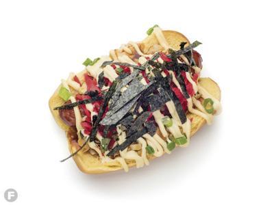 Instant Karma Okonomiyaki Dog