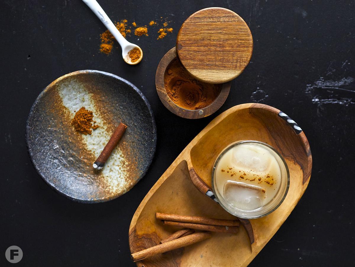 Smoked Cinnamon Horchata Cocktail