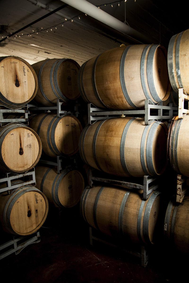 Side Project Brewing: Barrels