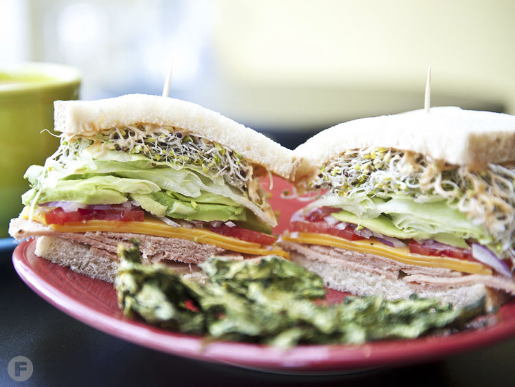 Frida's Turkey Sandwich