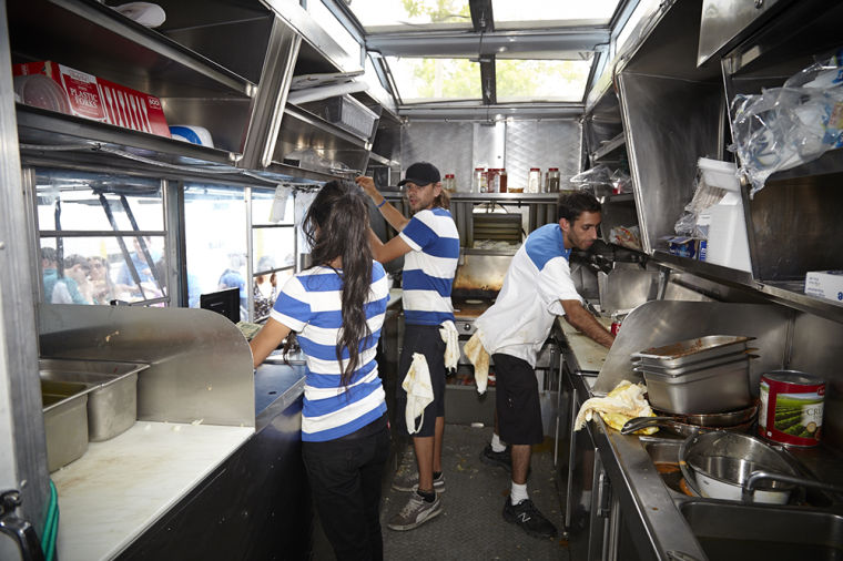 Great American Food Truck Race Stops