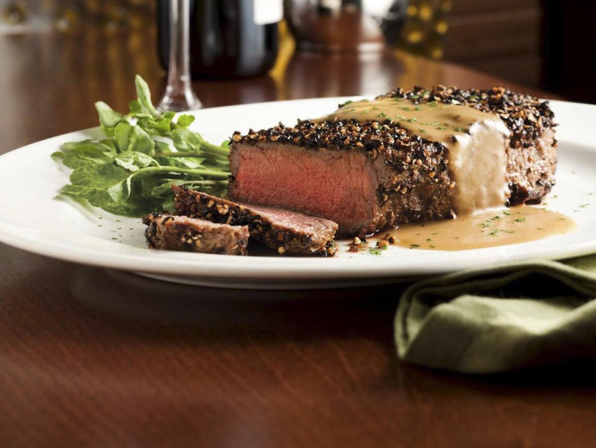 Capital Grille Steak au Poivre