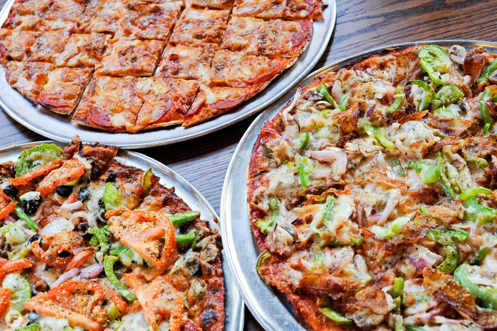 Feast on St. Louis – Pizza: Imo's Pizza Assorted Menu