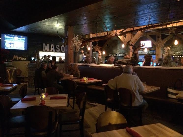 Maso Kitchen Bar Menu