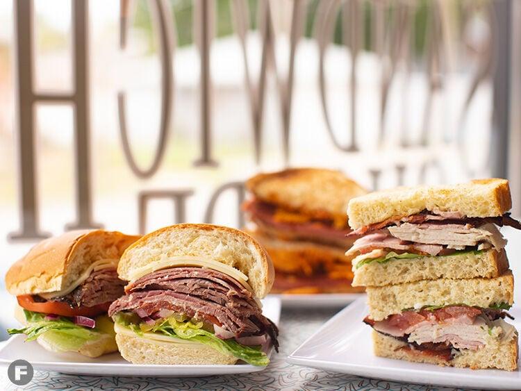 Sisters Sandwich Shop sandwiches