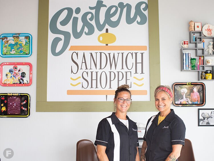 Sisters Sandwich Shoppe owners