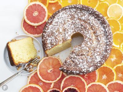 Citrus-Olive Oil Pound Cake