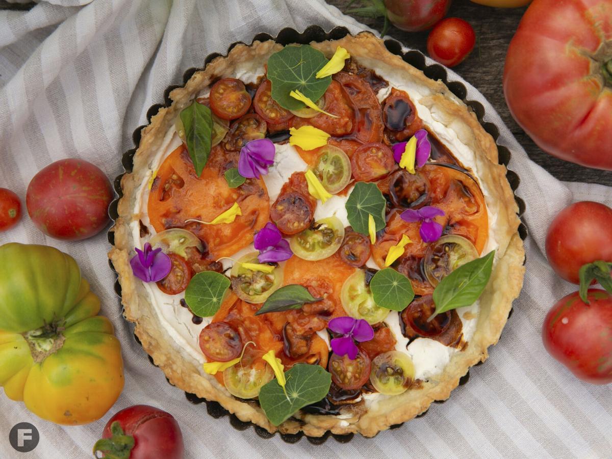Maypop Flower Farm Tomato Tart