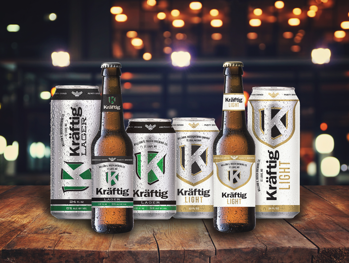 Kraftig Relaunched Packaging