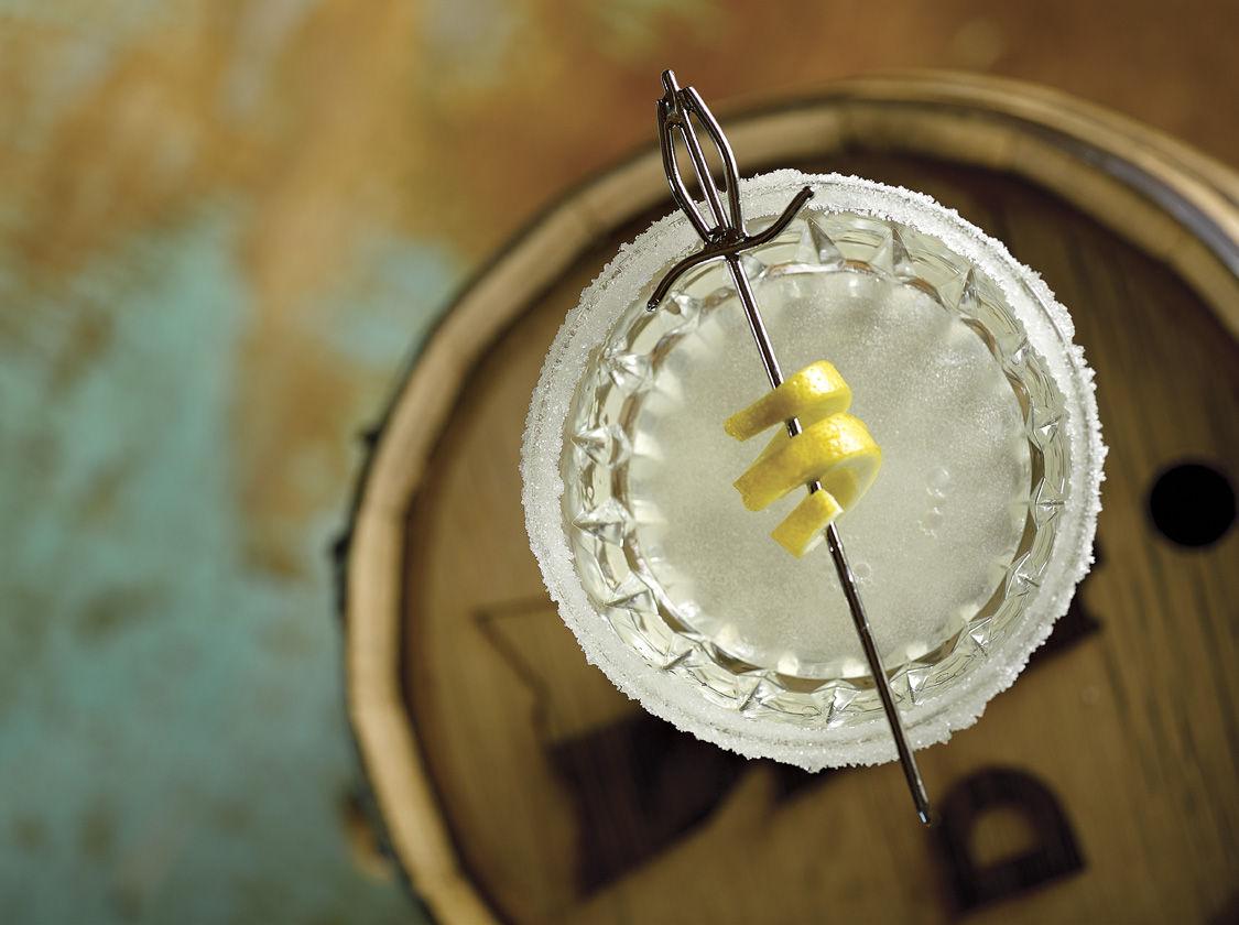 Barrel-Aged Lemon Ginger Drop