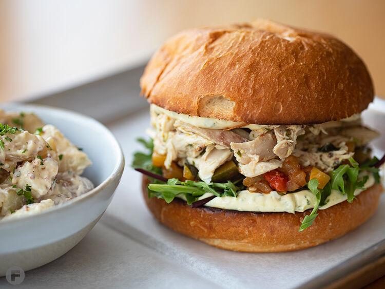 Bolyard's Meat & Provisions Pulled Chicken Sandwich