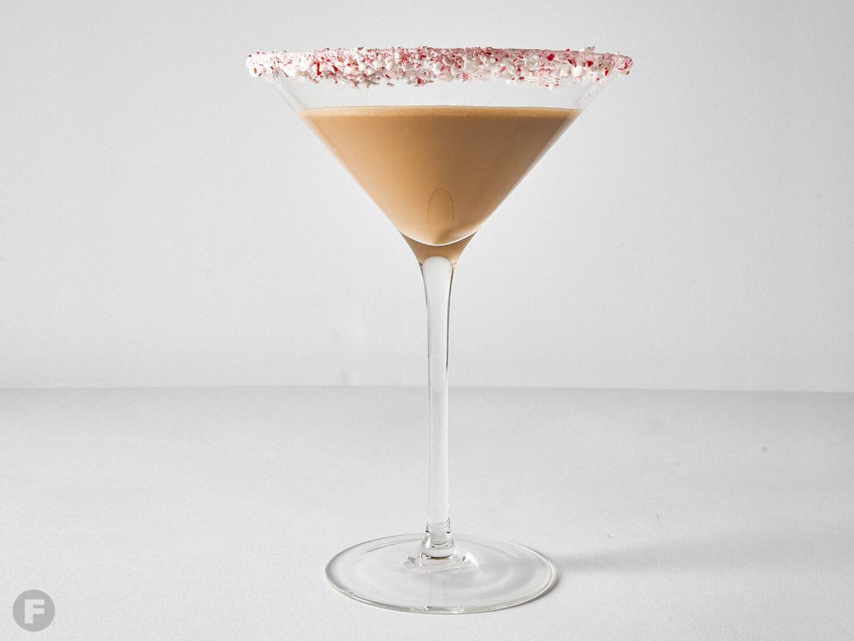 Chocolate-peppermint Martini