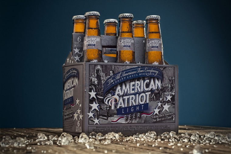 A six-pack of American Patriot light