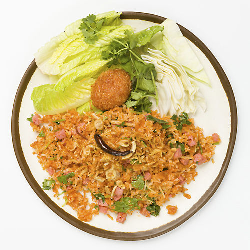 Khao Tod Nam Sod