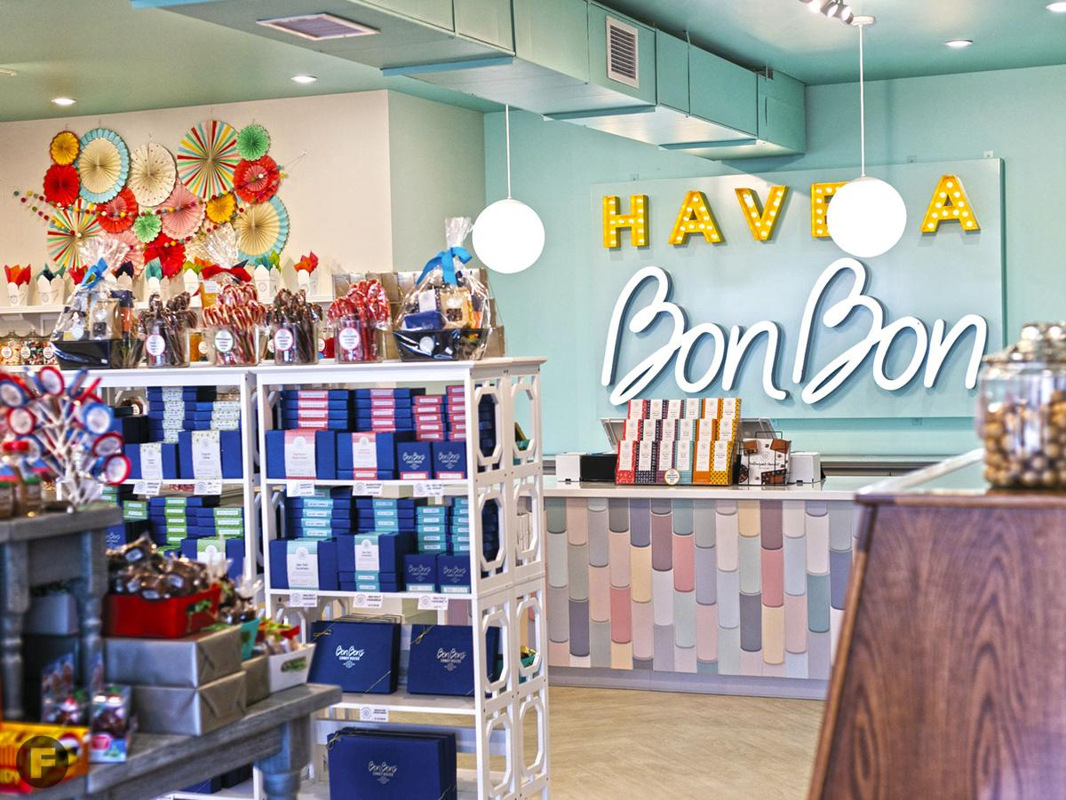 Bon Bon's Candy House interior