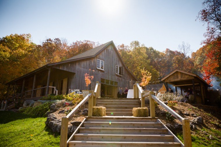 The event took place at Chaumette's recently renovated barn.