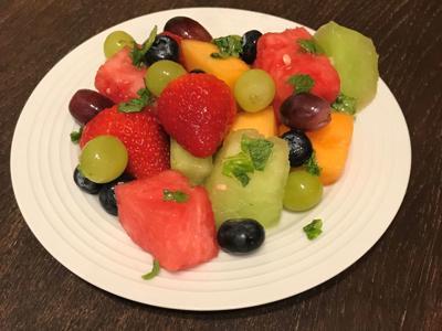 Mojito Melon Salad