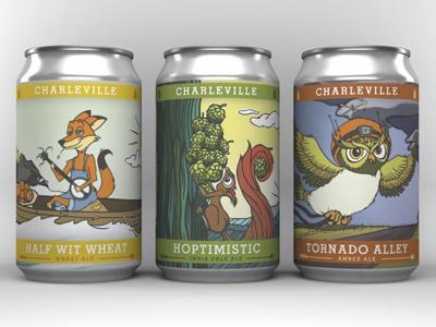 Charleville Brewing Co. Cans