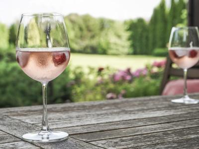 Garden Rose Cocktail